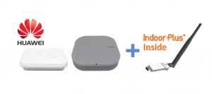 피플앤드테크놀러지 IndoorPlus USB 타입 IOT RTLS BLE 스캐너 / 게이트웨이 화웨이 무선 AP